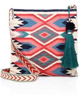 Adi Embroidered Crossbody Bag