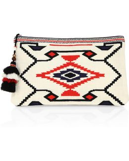 Totsi Embroidered Clutch