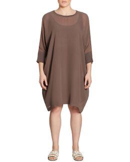 Mixed-media Dress