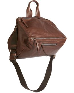 Solid Messenger Bag