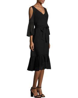Grade Dame Cold-shoulder Dress