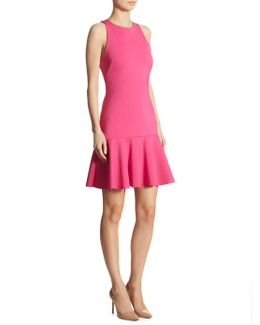 Fantastic Scuba Drop-waist Dress