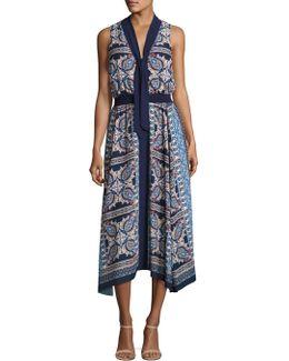 Oasis Paisley Printed Dress
