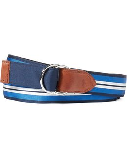 Reversible Leather-blend Belt