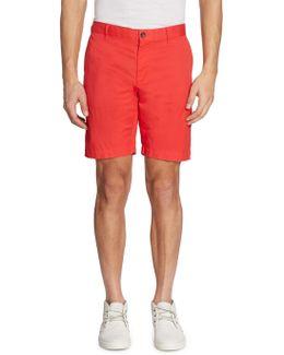 Slim-fit Twill Shorts