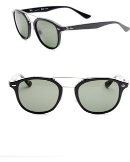 Rb218353 Highstreet Polarized Round Sunglasses