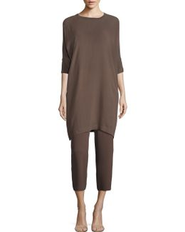 Silk Shift Dress