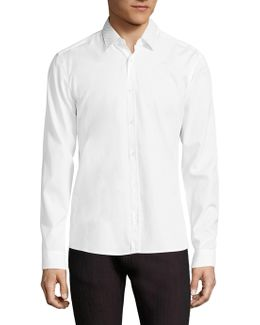 Resta Dotted Collar Slim-fit Shirt