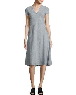 Organic Linen A-line Dres