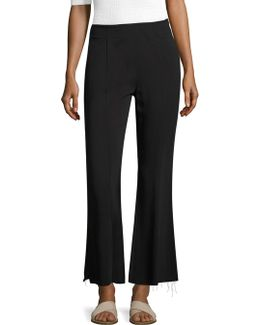 Carel Cropped Flared Pants