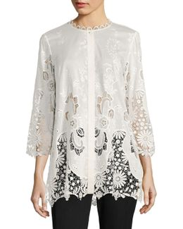 Dillon Broderie Anglaise Blouse