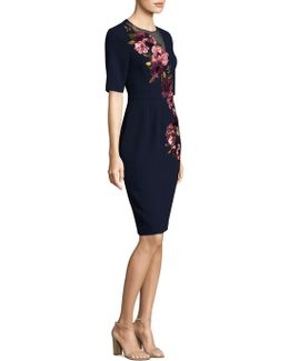 Knightly Floral Bodycon Dress