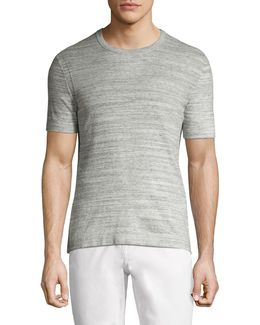 Heathered Cotton Tee