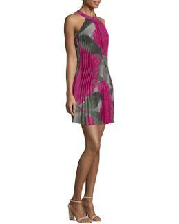 Corinna Pleated Floral Dress