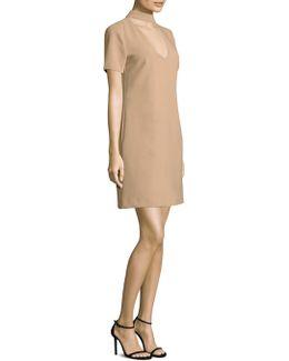 Luxe Drape Mini Dress
