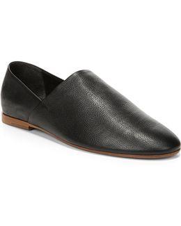 Maude Leather Flats