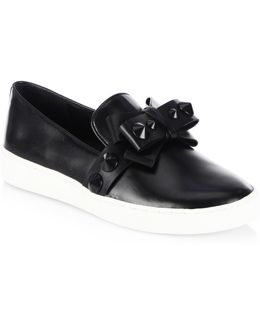 Val Leather Sneakers