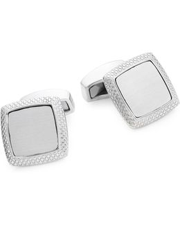 Satin Quadrato Cuff Links