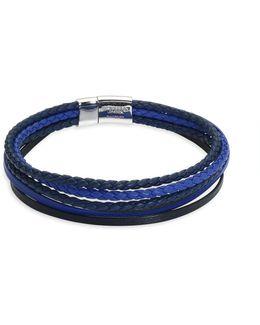 Cobra & Multistrand Sterling Silver Bracelet