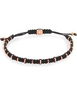 Macrame Silver Bracelet