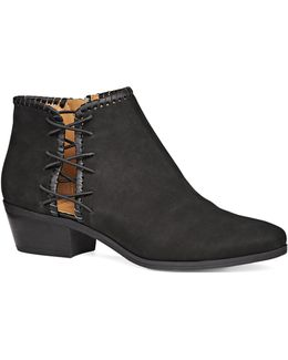 Reagan Leather Booties