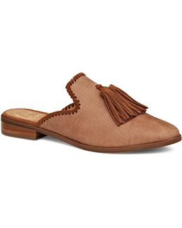 Delaney Leather Mules
