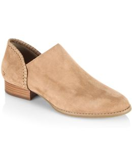 Avery Suede Booties