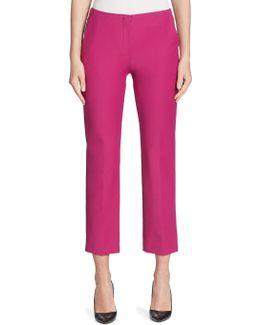Techno Cotton Slim-leg Pants