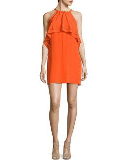 Popover Silk Dress