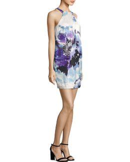 Felisha Halter Print Dress