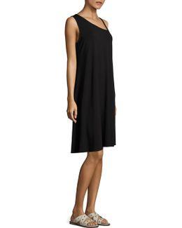 Asymmetric Strap Dress