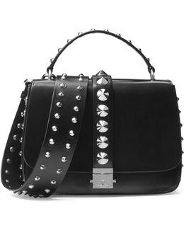 Mia Leather Shoulder Bag