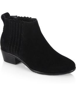 Liddy Suede Ankle Booties