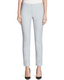 Tech Stretch Cotton Pants