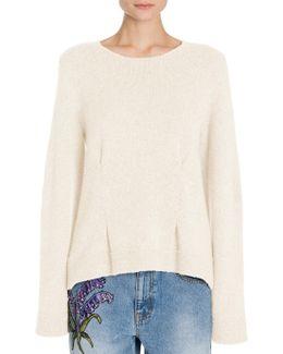 Oversize Cashmere Crewneck Sweater