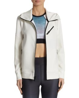 Zip Up Neoprene Jacket