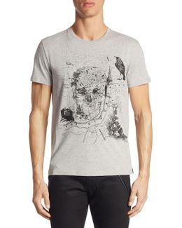 Front Graphic Cotton Shirt