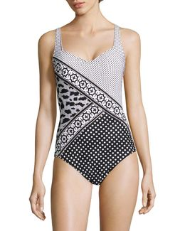 One-piece Printed Swimsuit