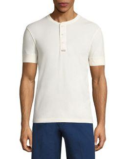 Knit Cotton Shirt