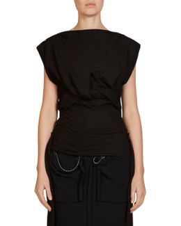 Knotted Wool Top