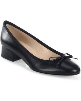 Danielle Leather Ballet Pumps