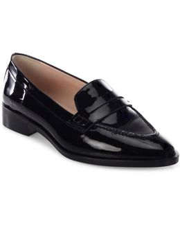 Iona Patent Leather Penny Loafers