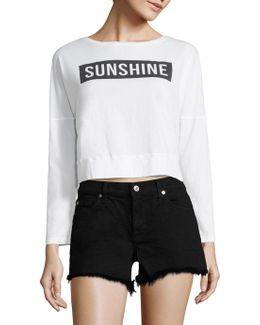 Sunshine Crop Top