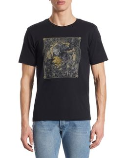 Screen Print Cotton T-shirt