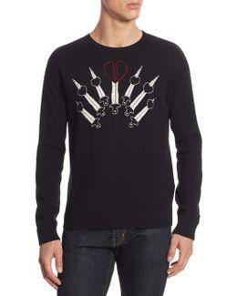 Love Blades Cashmere Sweater