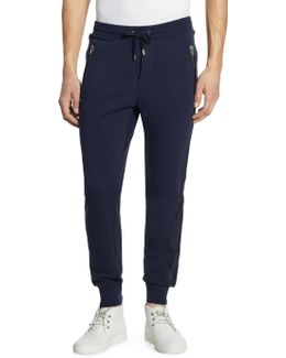 Drawstring Cotton Sweatpants