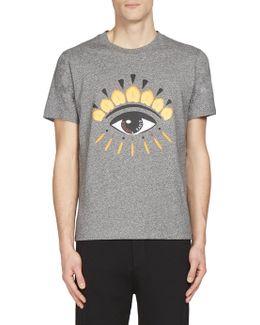 Eye-print Tee