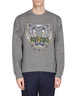 Tiger Classic Long Sleeve Sweatshirt