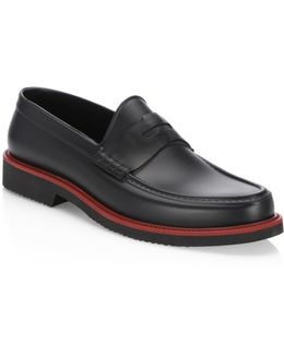 Collection Moc Rubber Penny Loafers