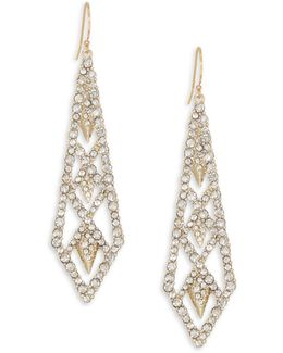 Elements Crystal Drop Earrings